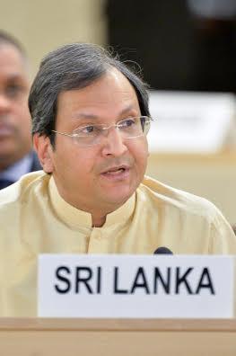 Ambassador Ravinatha Aryasinha