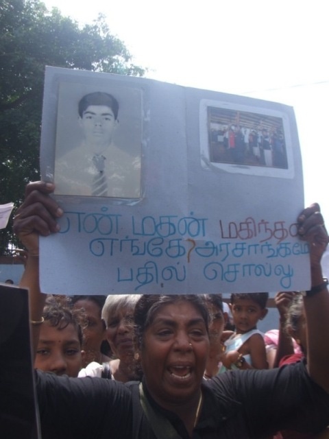 Jeyakumari Palendran, whose third son was recruited by the Liberation Tigers of Tamil Eelam has surrendered to the Sri Lankan security forces during the last phase of the war. But, he has gone missing afterwards. Her other two sons have been killed in the war-pic by Dushiyanthini Kanagasabapathipillai