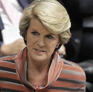 Foreign Minister Julie Bishop. Photo: Andrew Meares