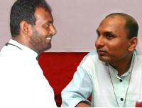 Ruki Fernando and Father Praveen Mahesan