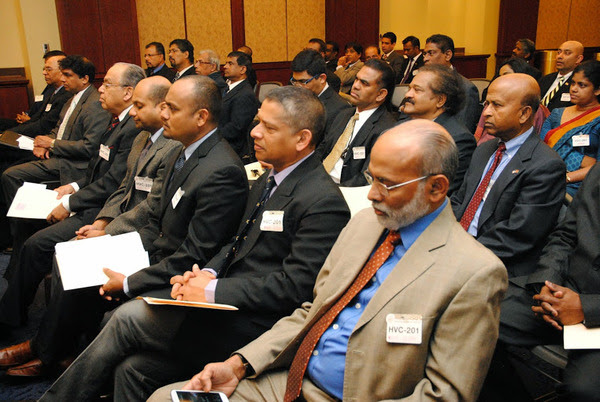 A section of the audience at the Sri Lankan - Americans gathering at Capitol Hill on March 26,2014, Washington , D.C.