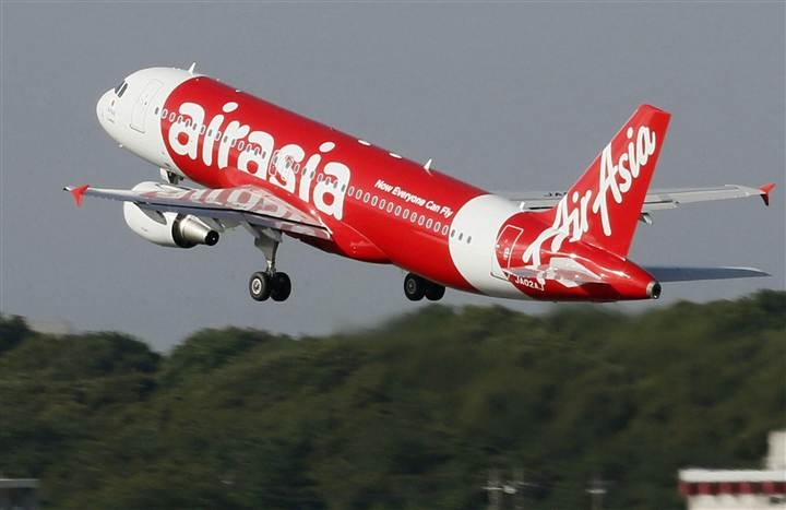 An AirAsia flight