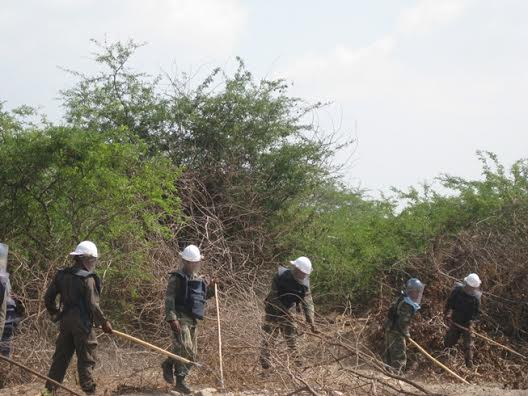 Demining northern sri lanka_