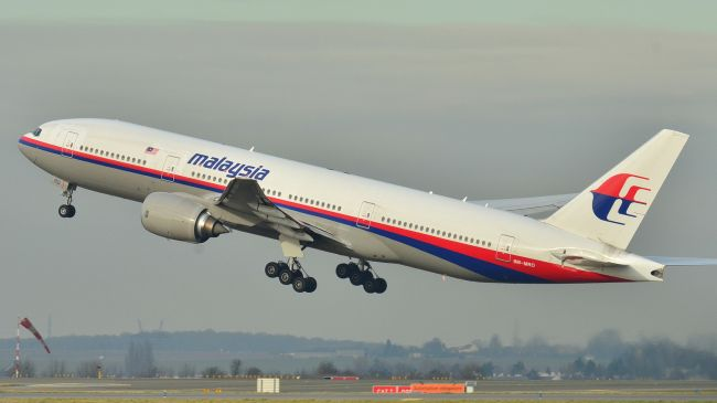 A file photo of the Malaysia Airlines aircraft that has been missing for about a month