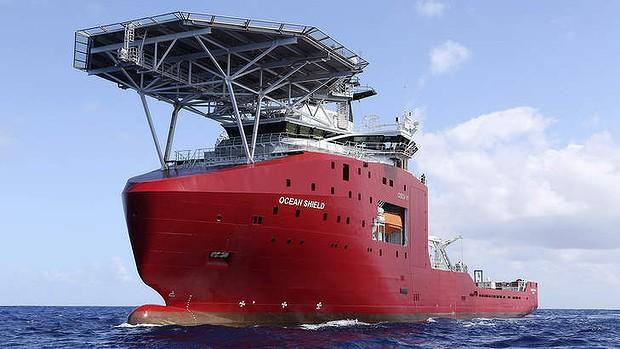 The Australian vessel