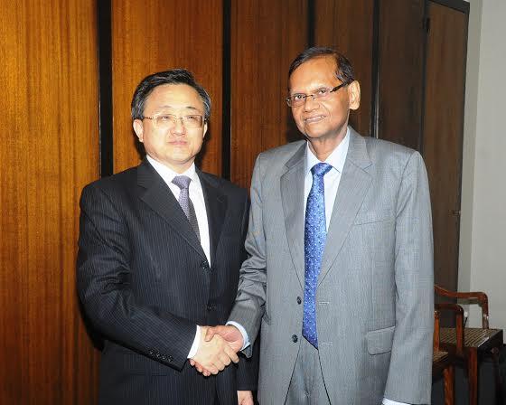 Bilateral Political Consultations between Sri Lanka and China