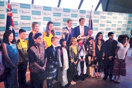 Master Ravin Bandara to represent Sri Lankan-Australians_