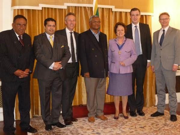 Speaker Chamal Rajapaksa at london