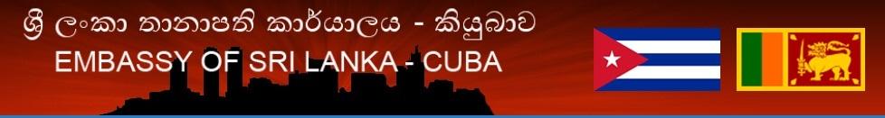 Sri Lankan Embassy in Cuba