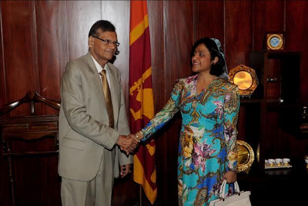 sri lanka maldives foriegn ministers