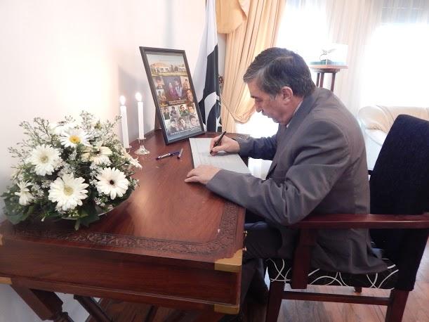 High Commissioner HE Maj. Gen. (R) Qasim Qureshi