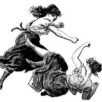 women-fight