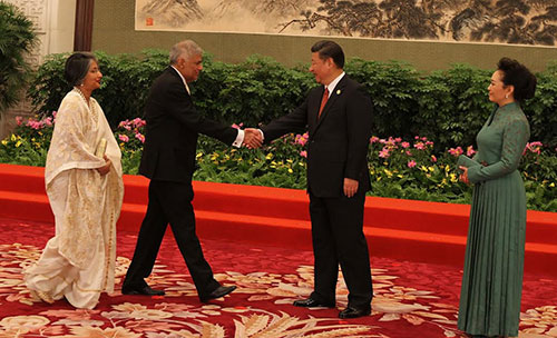 Rani-and-China-president