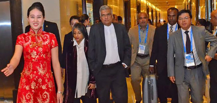 Ranil-Visit-China