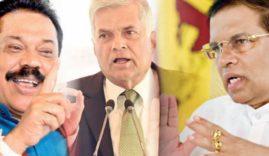 Mahinda-Rajapaksa-Ranil-Wickremesinghe-and-Maithripala-Sirisena
