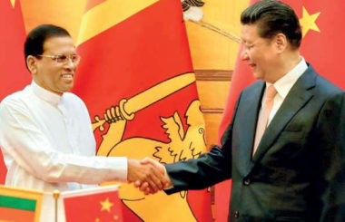 China sri lanka president