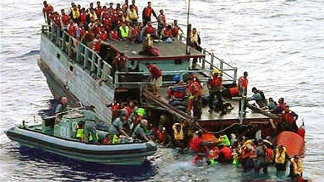 Australia-asylum-seekers file pics