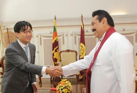 Ambassador of the Republic of Korea in Sri Lanka Mr. Jong-moon Choi