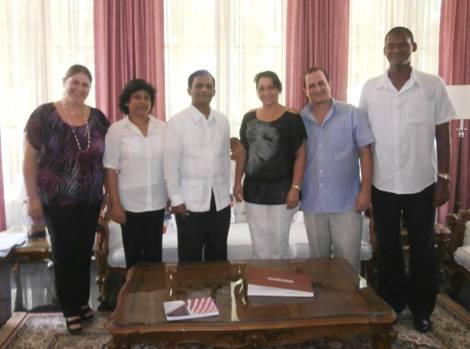 Cuban Delegation for WCY 2014