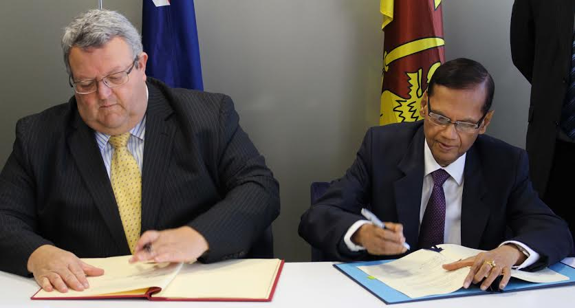 New Zealand, signing the Bilateral Air Services Agreement